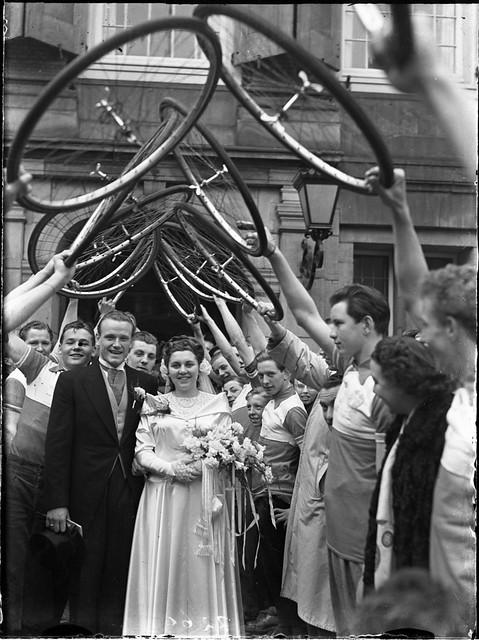 03-15-1950_07266 Huwelijk Henk Lakeman