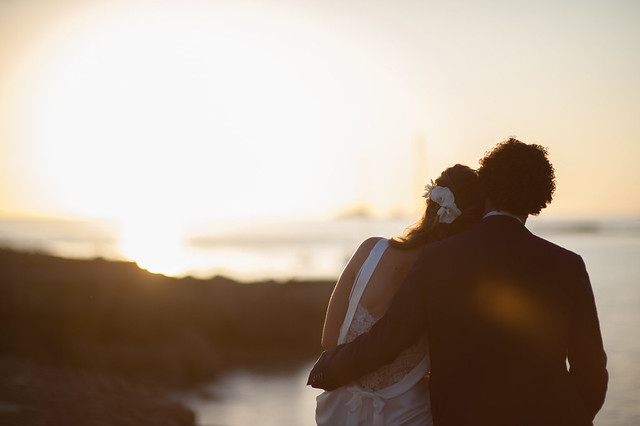 Eveline & Robin, real Ibiza wedding