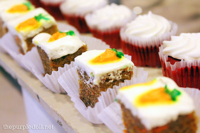 Carrot Cake and Red Velvet Cupcakes