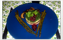 Asparagus, cranberries and little else