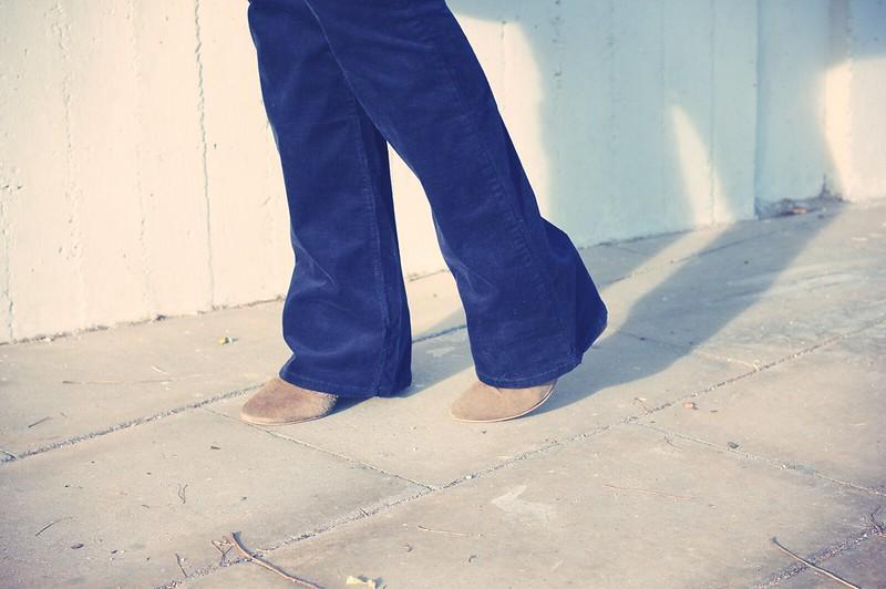 Look Pantalones de pana + cuadros