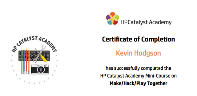 MakeHackPlay badge