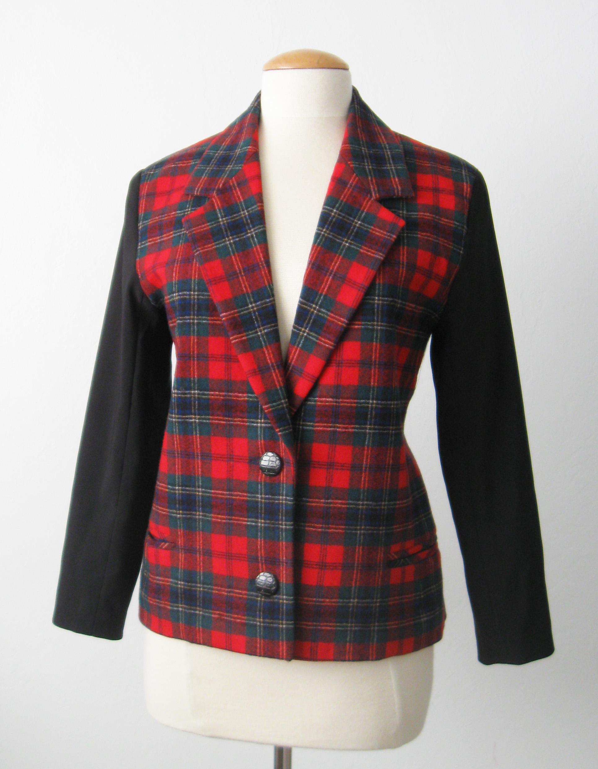 Holiday jacket front