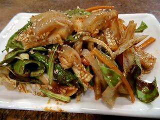 Pig Skin Salad Anju / 돼지껍데기 초무침