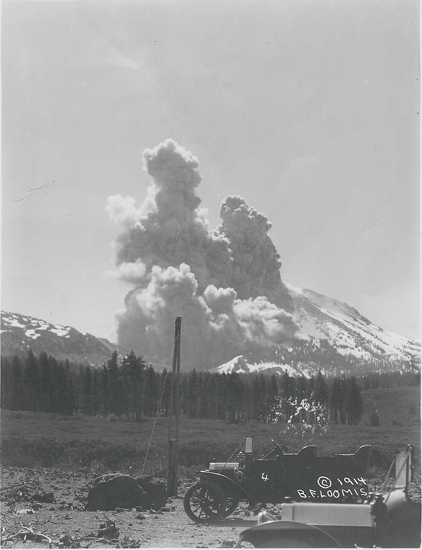 Lassen Peak Eruption #4