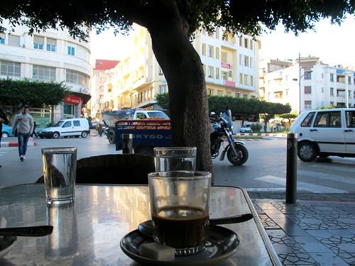 Terraza  del Gran Cafe de Paris - Tánger