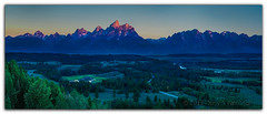 The Dawn Of The Teton Mountains