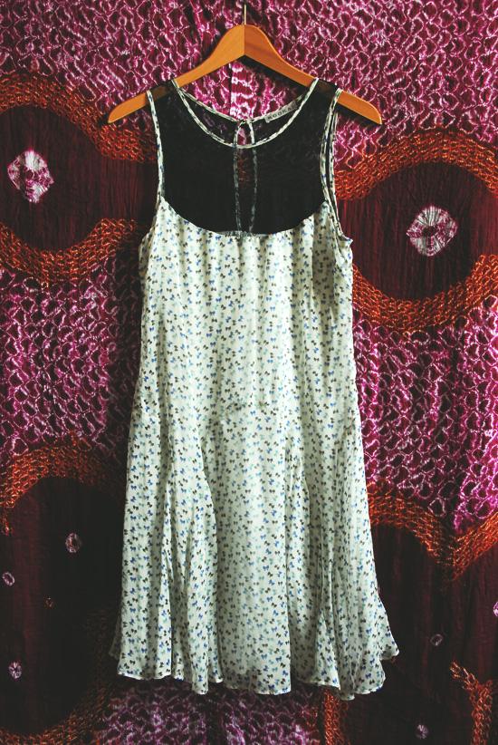 robe en voile de soie kookai