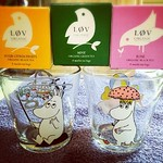 my moomin glasses and love tea
