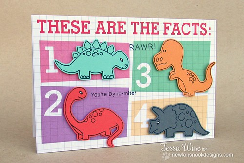 Dinosaur Facts Card