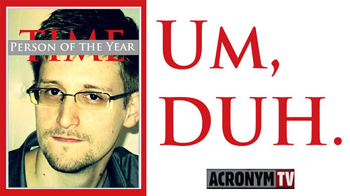 AcronymTV's 2013 Person of the Year