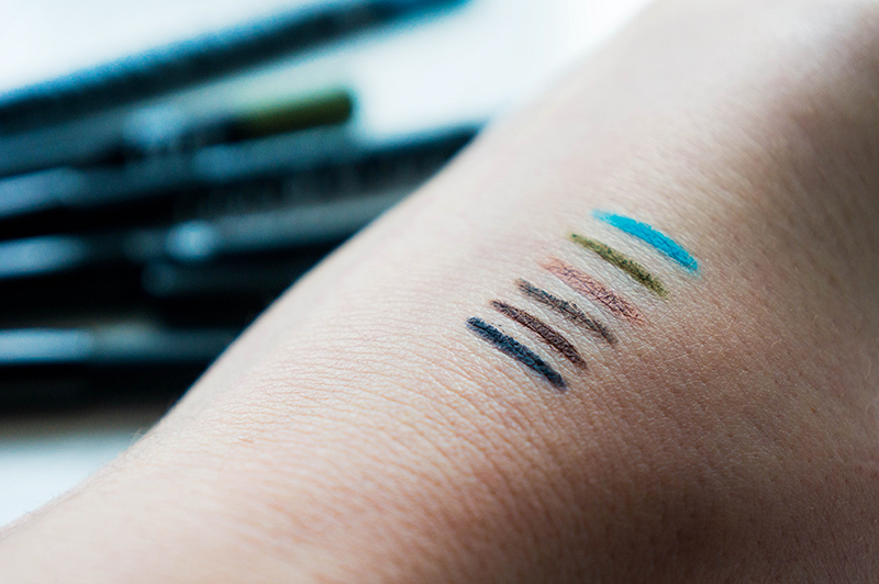 Lord & Berry Smudgeproof Eyeliner Swatches | www.latenightnonsense.com