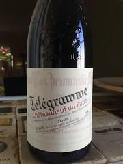 """2005 Domaine du Vieux Telegraphe """"Telegramme"""", Châteauneuf-du-Pape"""