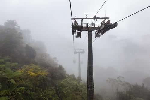 mountain fog clouds forest canon highlands rainforest cloudy foggy tram hills adobe malaysia cablecar kualalumpur selangor lightroom 6d gentinghighlands batangkali canon6d lightroom5