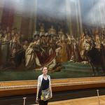Coronation of Napoleon with Emily, Louve