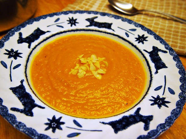 Carrot, Ginger & Squash Soup