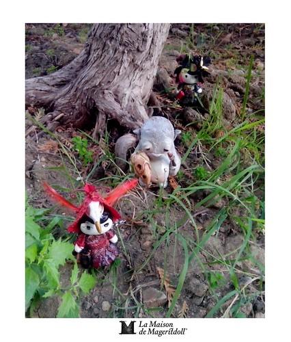 Mageritdoll: Forest Creatures + THE HUNTER SICKLING - YOSIELL LORENZO (Resin Art Doll Jewelry - Joyas de Muñeca. Muñeca artística resina) by La Maison de Mageritdoll