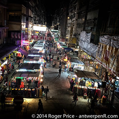 Quiet in Mongkok tonight.... wonder why!