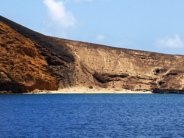 Remote beaches, La Graciosa, Lanzarote