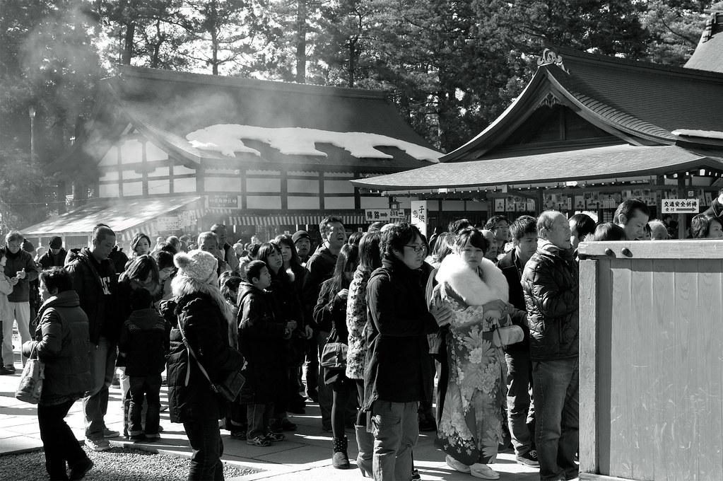 初詣|多賀大社