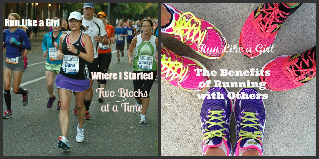 Run Like a Girl Posts | cookincanuck.com #running #runwithdara #fitness #exercise