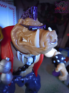TEENAGE MUTANT NINJA TURTLES - CLASSIC COLLECTION :: ROCKSTEADY & BEBOP { tOkKustom Punk touch-ups } xiii // 'Bop (( 2013 ))