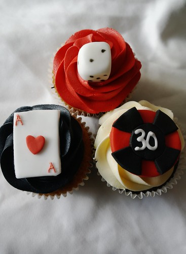 Vegas Cupcakes For 30th Birthday