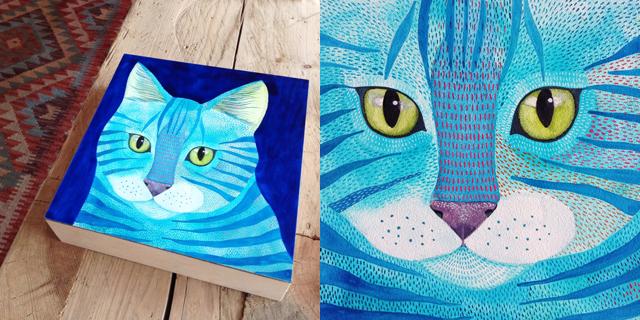 Turquoise Kitty