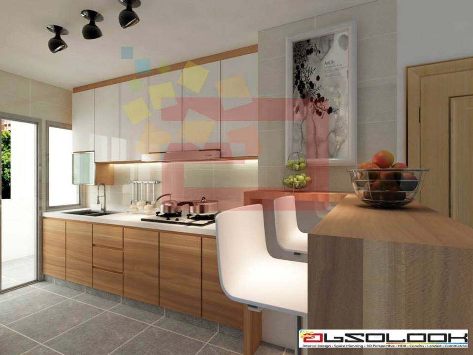 Bto Kitchen Design Ideas ~ Kitchen designs for hdb bto flats