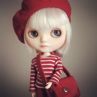 Blythe a Day / February 2014 – 12. Red