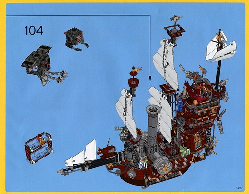 70810 MetalBeard's Sea Cow ins10
