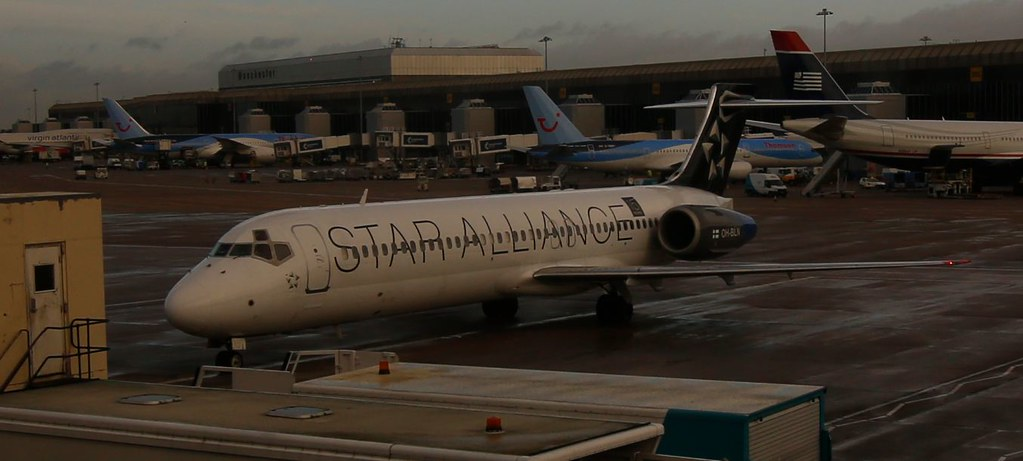 The only Star Alliance Boeing 717