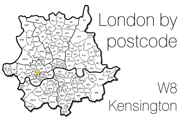how to understand a london postcode