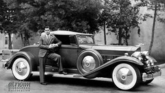 Clark Gable and his 1932 Packard ... an Atridim WIDESCREEN Restoration