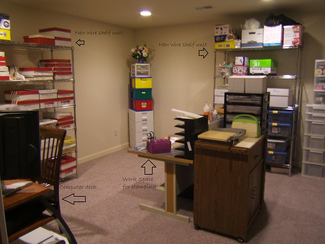 2014-05-16 (2)   Bonnie's new craft room with description