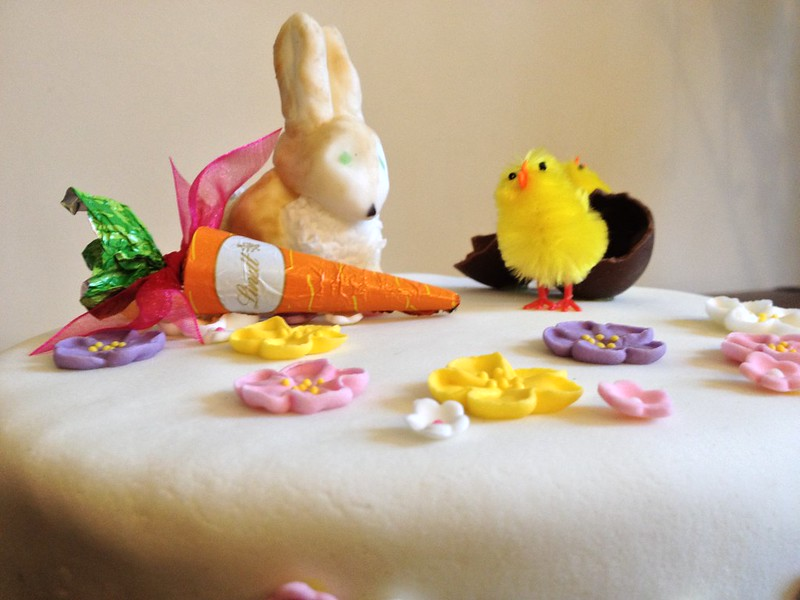 Boozy Easter Cake : Close Up 2