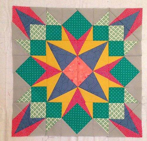 Lisa's Drop Dead Gorgeous Block