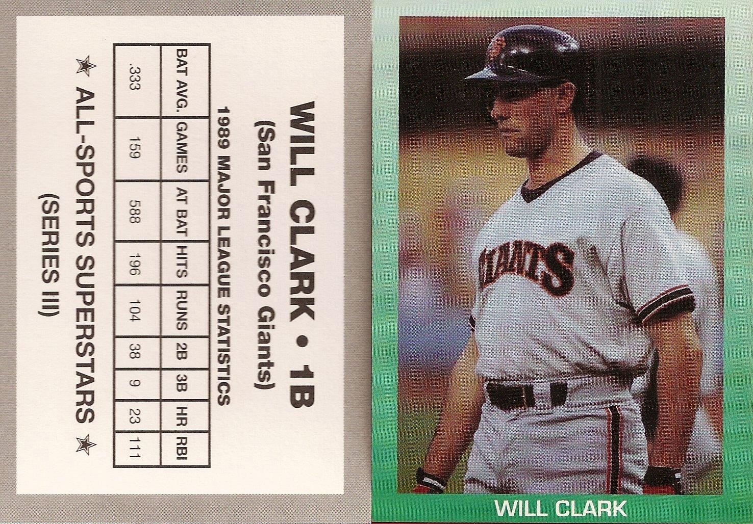 1990 All-Sports Superstars Series III