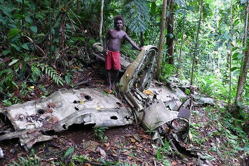 Munda aircraft wrecks