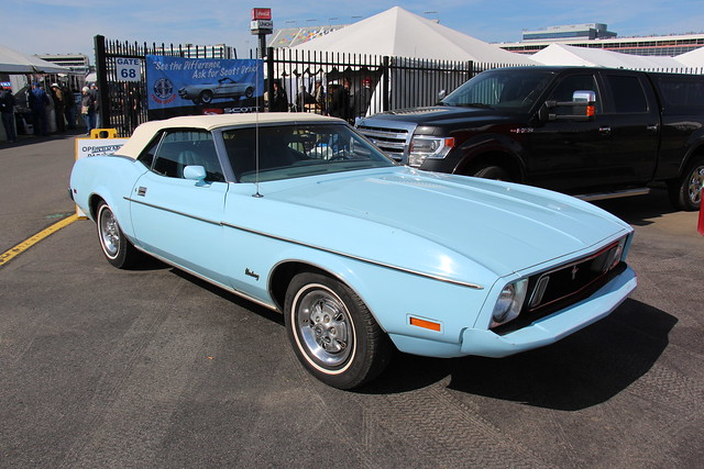 Photo:1973 Ford Mustang Convertible By Sicnag