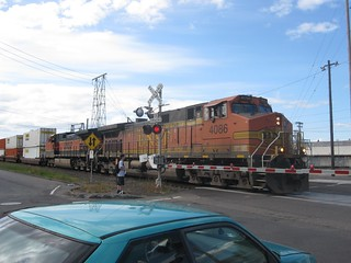BNSF container freight