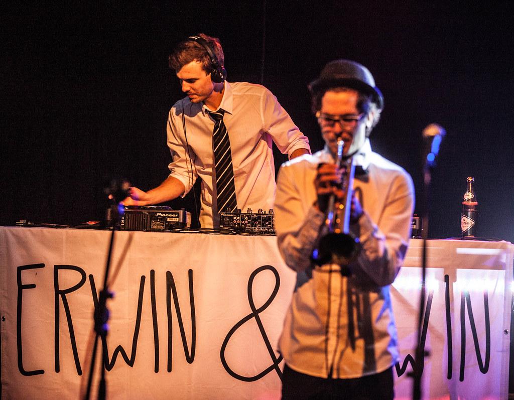 IF Hagenberg Sommerfest 2014 - Erwin & Edwin