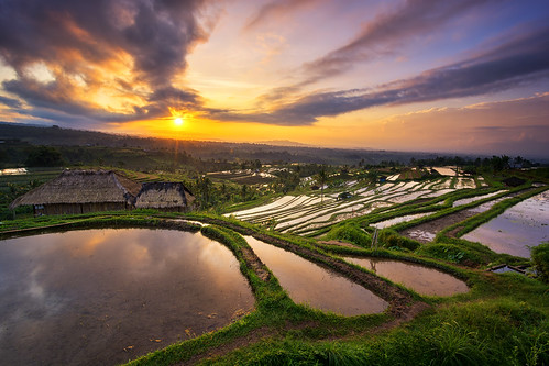bali cloud reflection nature sunrise indonesia landscape nikon asia rice paddy terrace tokina filter 09 lee awan f28 hijau pagi graduated refleksi sawah gnd jatiluwih tabanan terasering d7100 1116mm