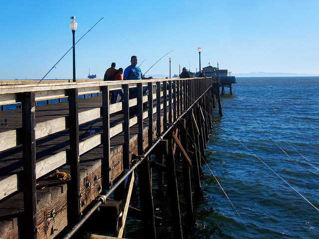 Seal beach pier flickr photo sharing for Seal beach fishing