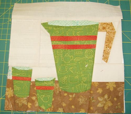 Sew kitchy June block
