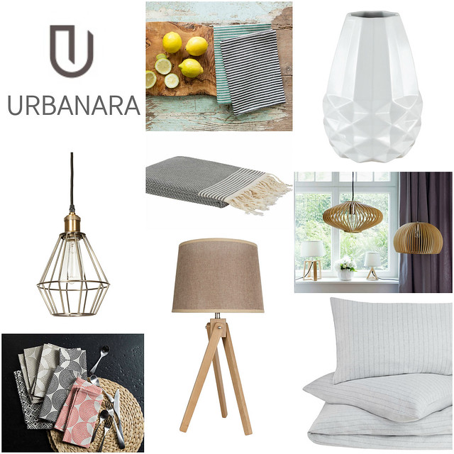 Urbanara shop collage home decor linens lighting bedding