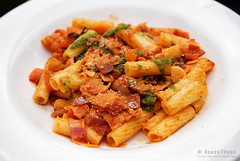 20160919-04-Penne arrabiata at Italian Pantry in H…