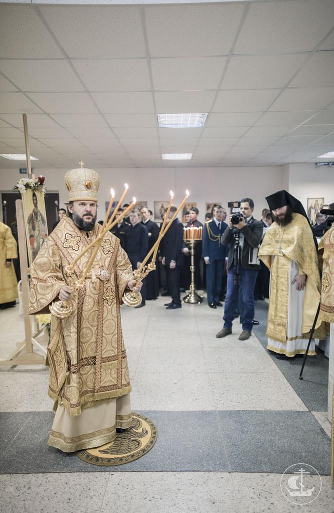 30 октября 2016, Литургия в Военно-Медицинской Академии / 30 October 2016, Divine Liturgy in Military Medical Academy