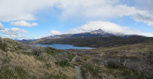 Torres del Paine: trek du W. Jour 3: el Lago Sköttsberg