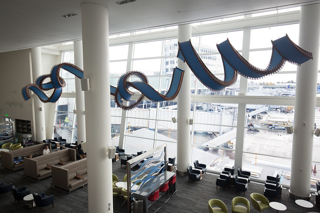 The Delta Sky Club: Seattle